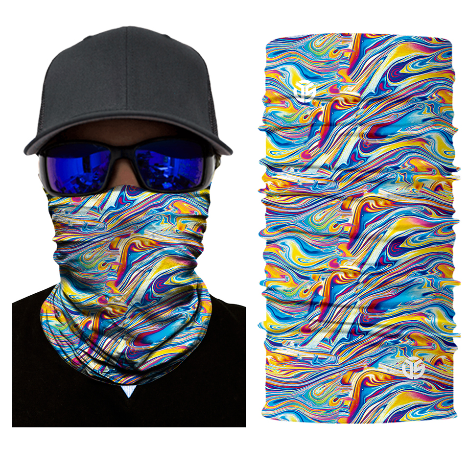 Acid Melt Face Mask Bandana - SuperFried