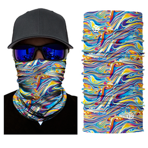 Acid Melt Seamless Mask Bandana
