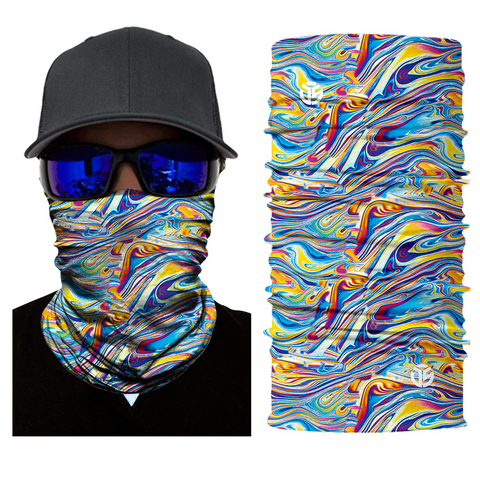 Acid Melt Rave Mask Bandana