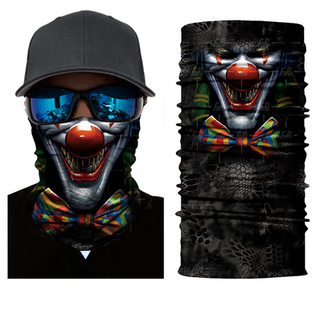Clown Joker Rave Mask Bandana