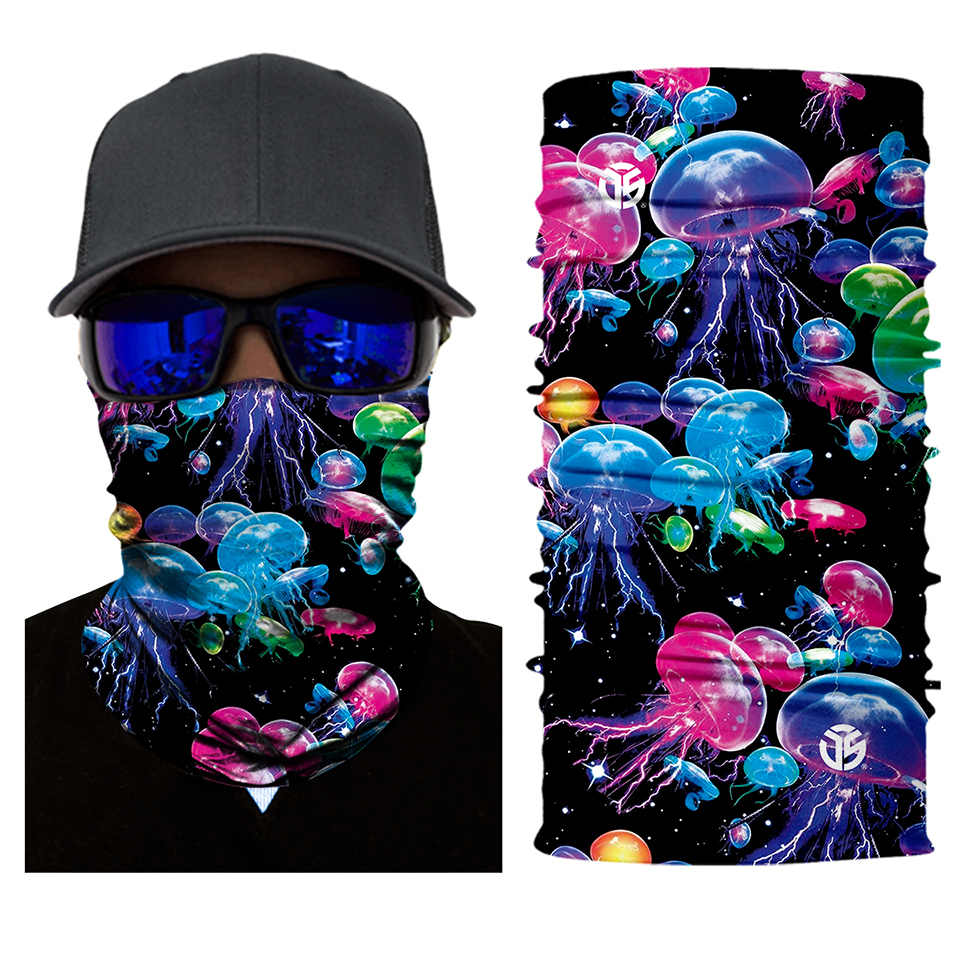 Jelly Ship Rave Face Mask Bandana - SuperFried