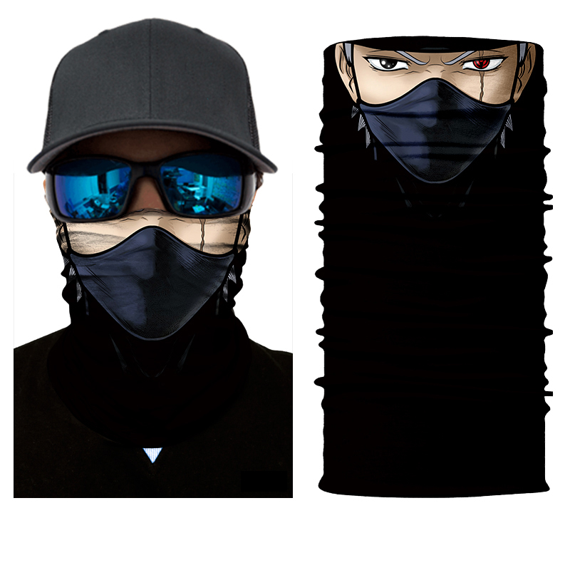 Kakashi Ninja Face Mask Bandana - SuperFried