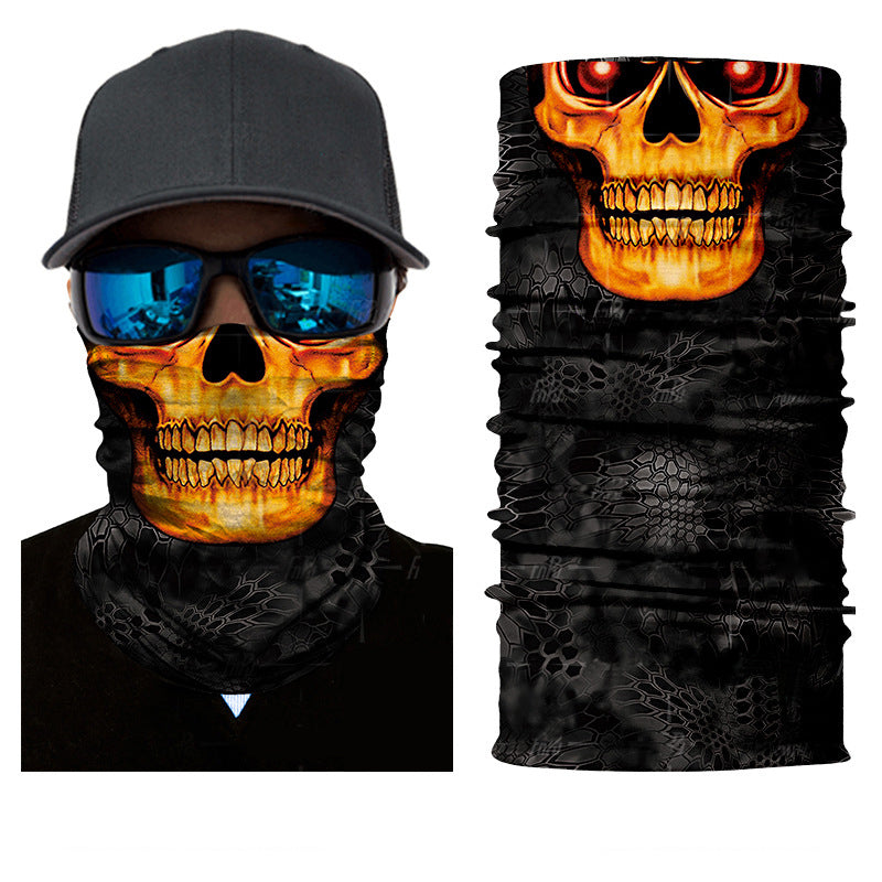 Death Skull Rave Mask Bandana - SuperFried