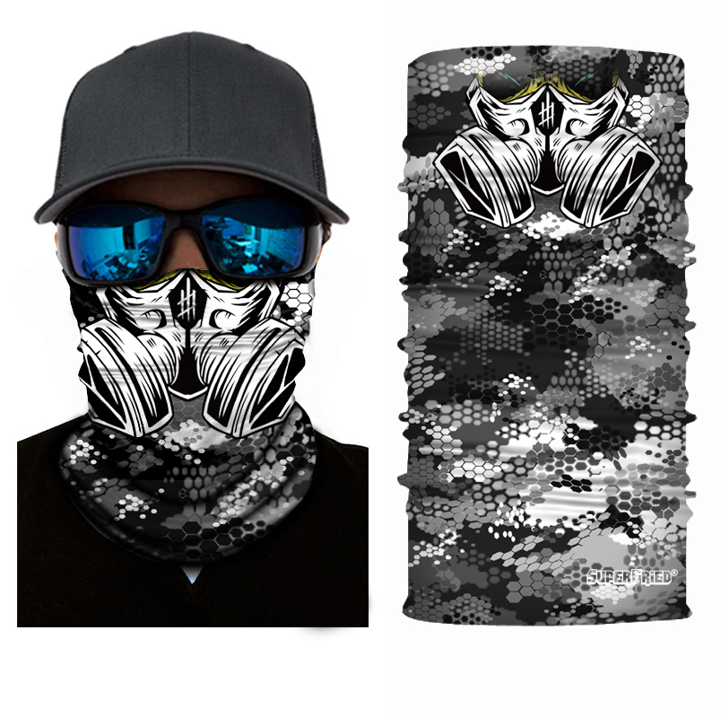 Industrial Gas Face Mask Bandana