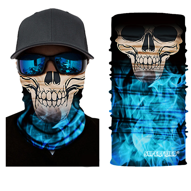 Inferno Grim Rave Face Mask Bandana - SuperFried