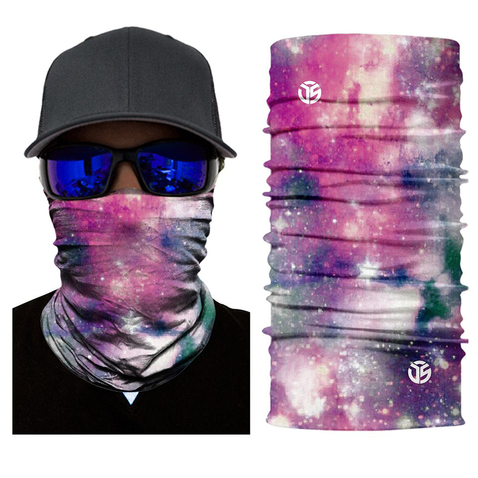 Glitter Star Rave Face Mask Bandana - SuperFried