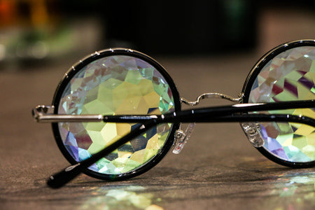 Lennon Kaleidoscope Glasses - SuperFried