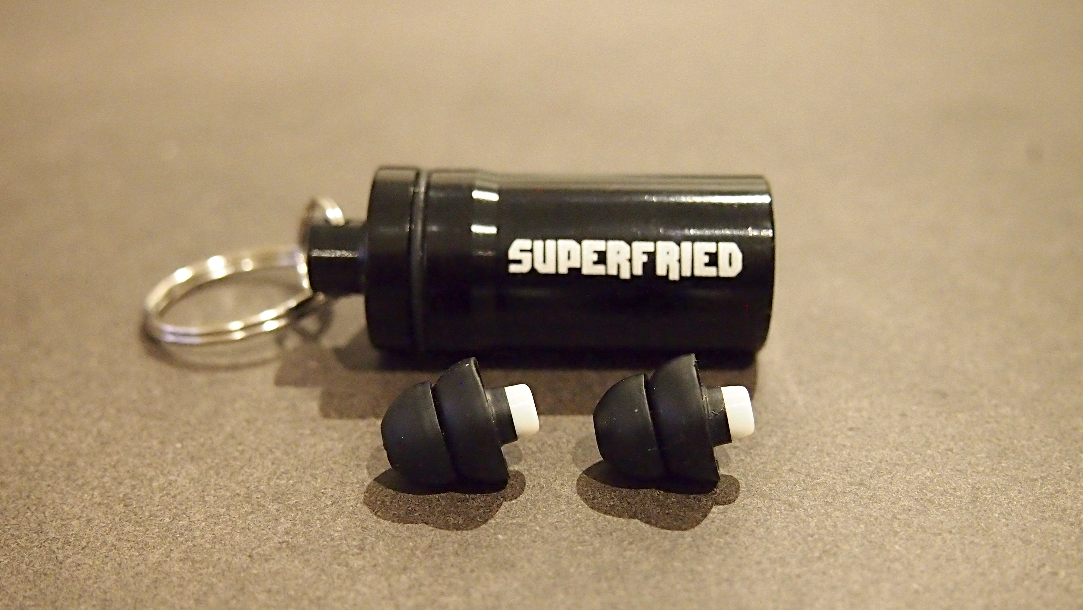 SuperFried Ear Plugs