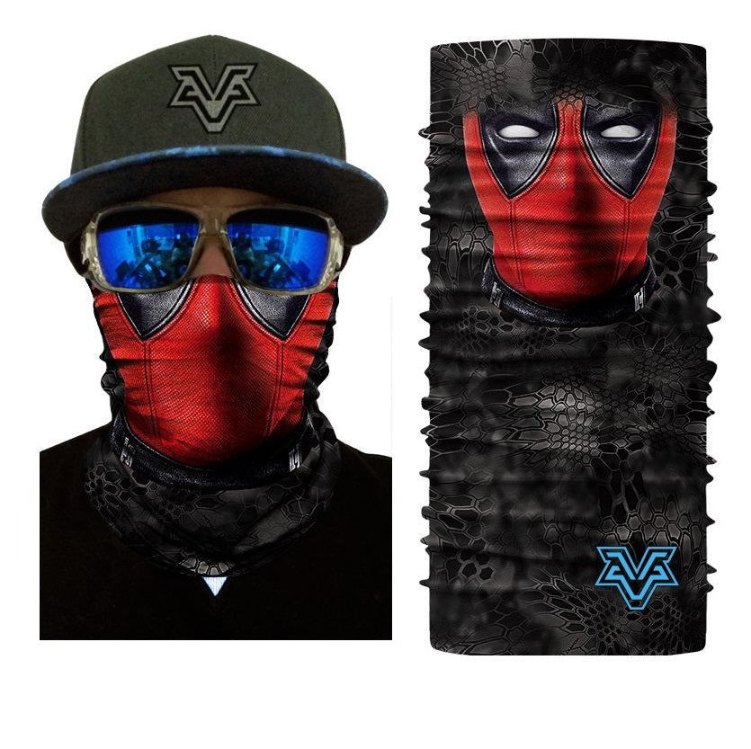 Deadpool Rave Face Mask Bandana - SuperFried