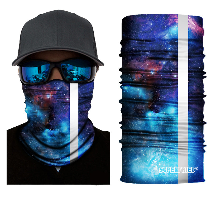 Rising Galaxy Seamless Mask Bandana