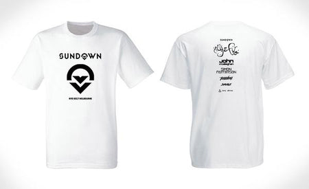 sundown tee tshirt trance music cosmic gate