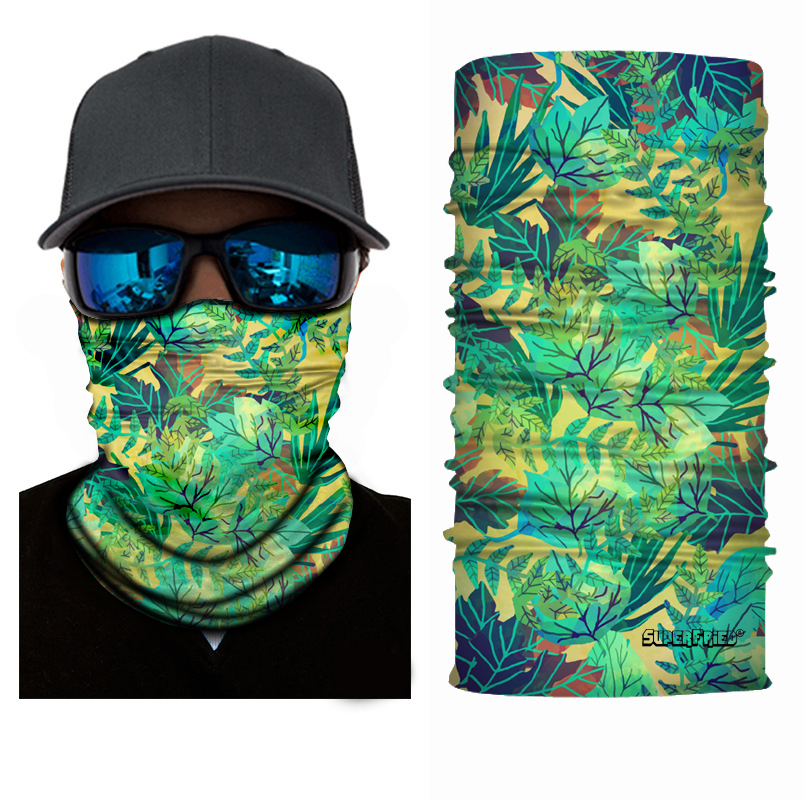 Sand Jungle Seamless Mask Bandana