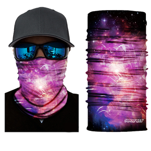 Space Burst Seamless Mask Bandana