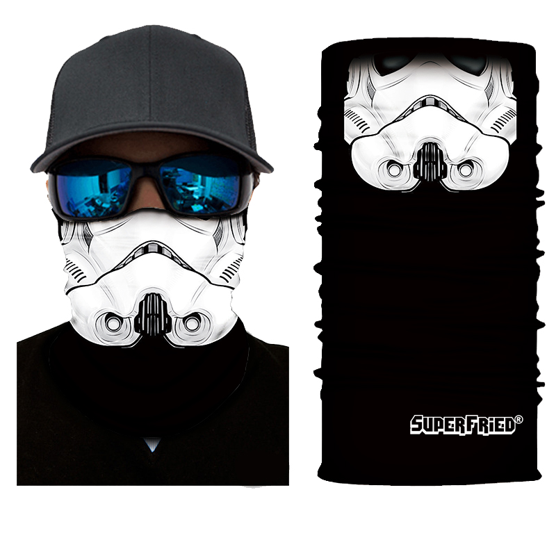 Star War Stormtrooper Seamless Mask Bandana