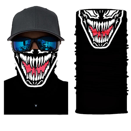 Vemon spiderman tom hardy sony scary face mask bandana