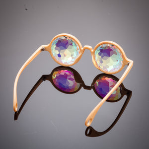 kaleidoscope prism glasses