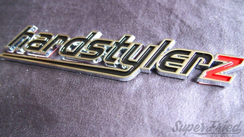 Hardstylerz Car Badge - SuperFried