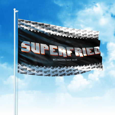 Flags - SuperFried Flag (MADE TO ORDER)