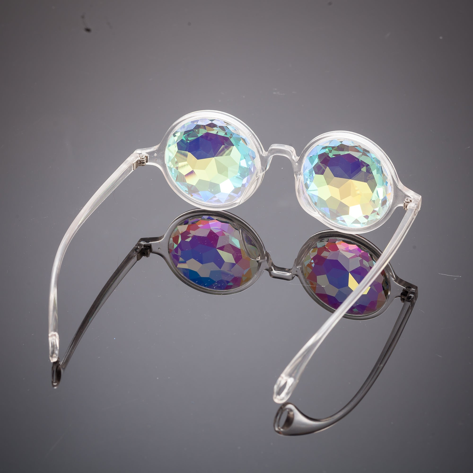 Clear Kaleidoscope Glasses - SuperFried