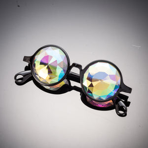 black diamond kaleidoscope glasses intense visuals effects eyewear