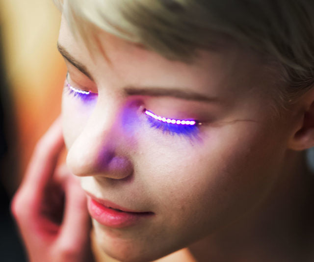 LED Light Up False Eyelashes