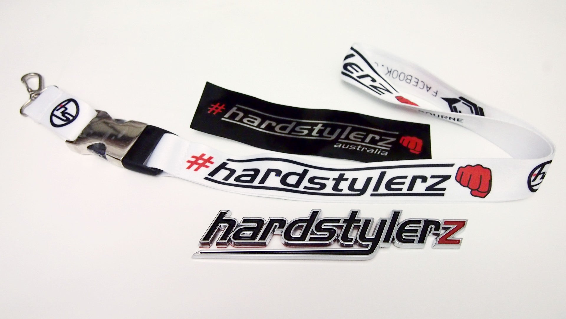 Hardstylerz White Lanyard - #3 Gen - SuperFried