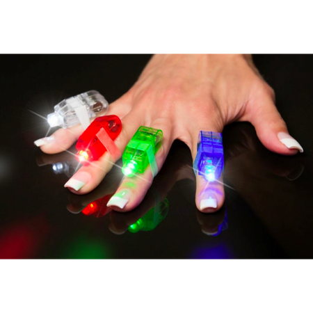 led finger lights colourful light neon