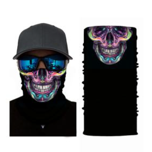 Bandana Rave Masks & Neck Gaiters for Raves, Hiking & Outdoors Sports
