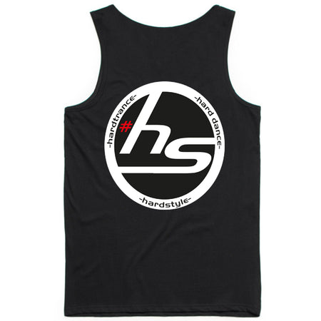 Hardstylerz Men's Black Singlet