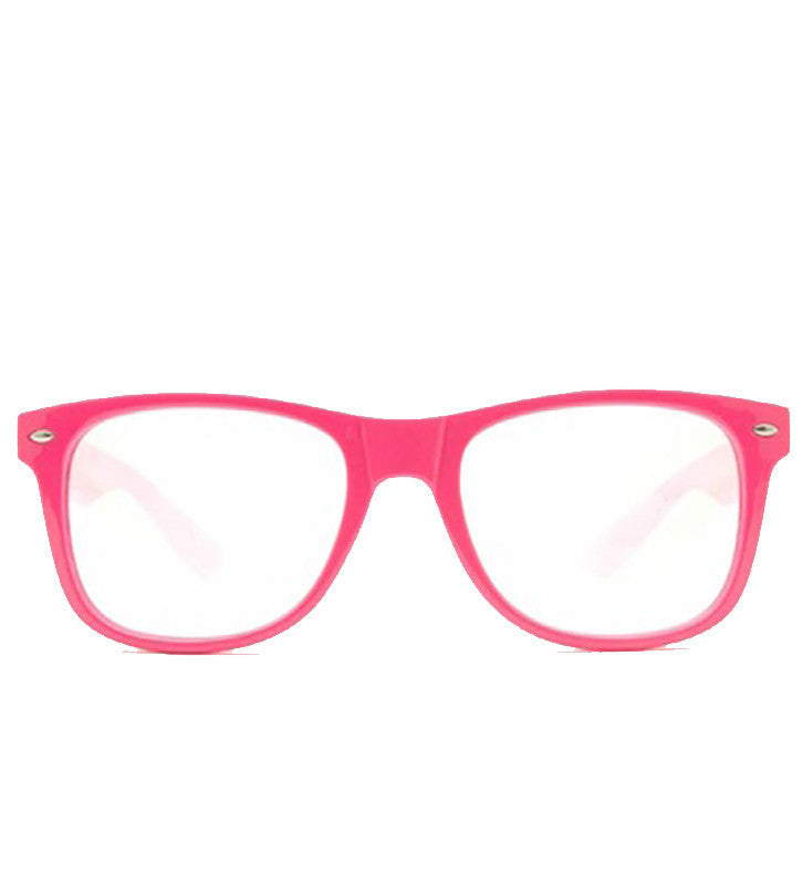 Pink Clear Firework Diffraction Glasses - SuperFried