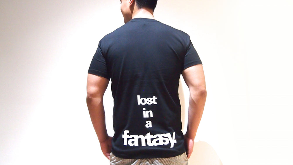 Lost in a Fantasy Men T-Shirt - SuperFried