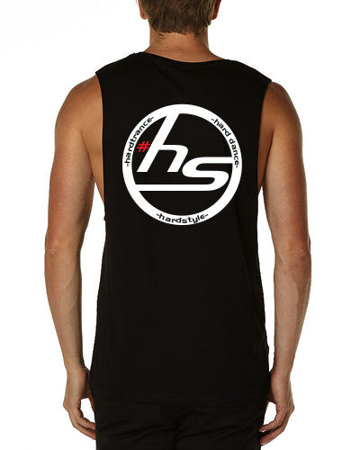 Hardstylerz Unisex Black Tank - SuperFried
