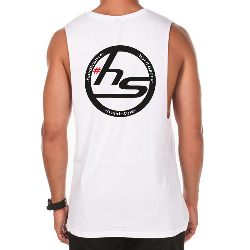 Hardstylerz Unisex White Tank - SuperFried