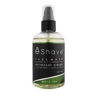 eShave White Tea Face Wash