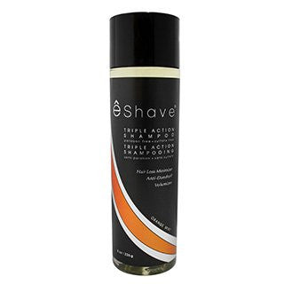 eShave Orange Mint Triple Action Shampoo