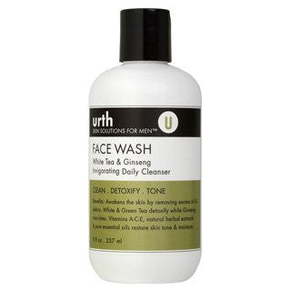 Urth Face Wash with White Tea & Ginseng Invigorating Daily Cleanser