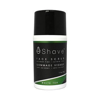 eShave White Tea Face Scrub
