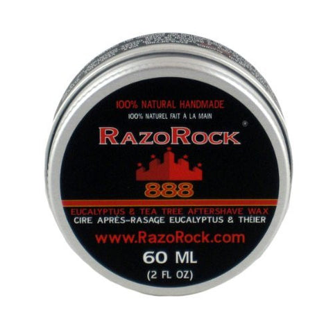 RazoRock 888 Eucalyptus And Tea Tree Aftershave Wax