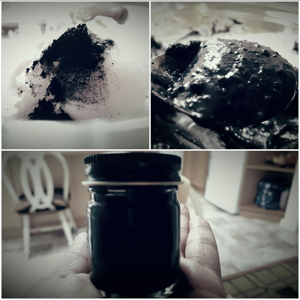 DIY Natural Toothpaste with Activated Coconut Charcoal