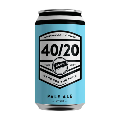 Craft Beer 40/20 Pale Ale Can