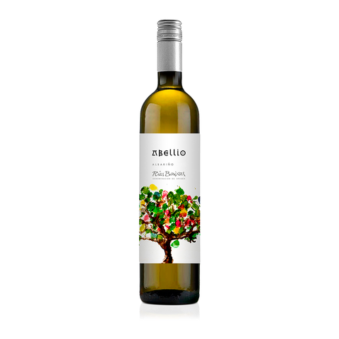 White Wine Abellio Albarino Bottle