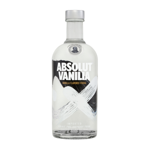 Absolut Vanilla Vodka Bottle