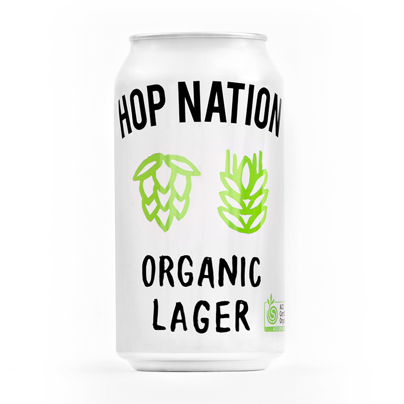 Hop Nation Organic Lager