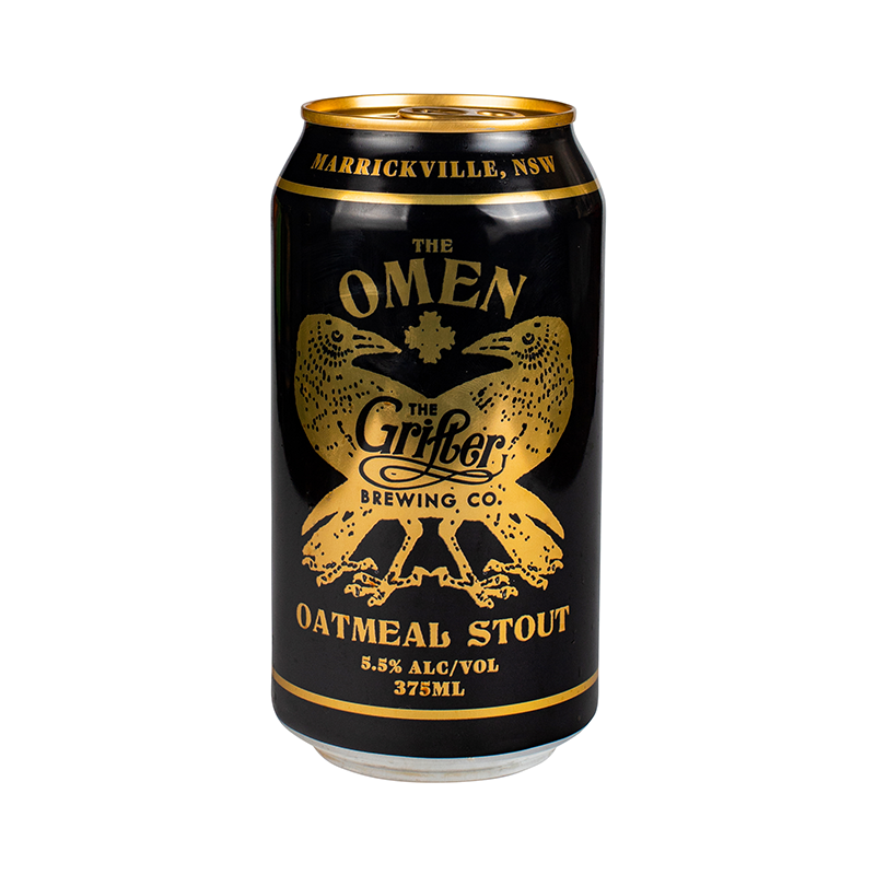 The Grifter The Omen Oatmeal Stout