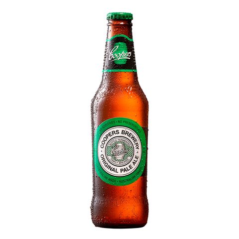 Coopers Pale Ale Bottles