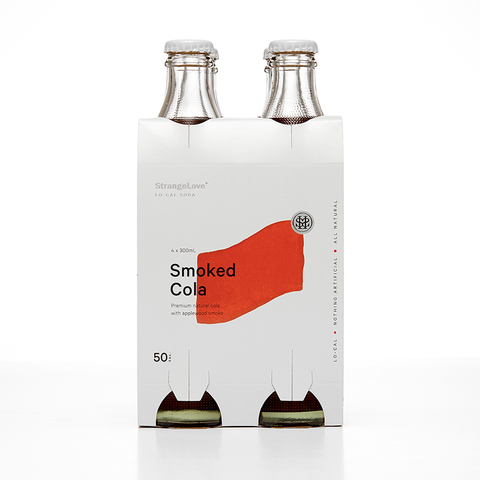 Smoked Cola Low Cal Soda