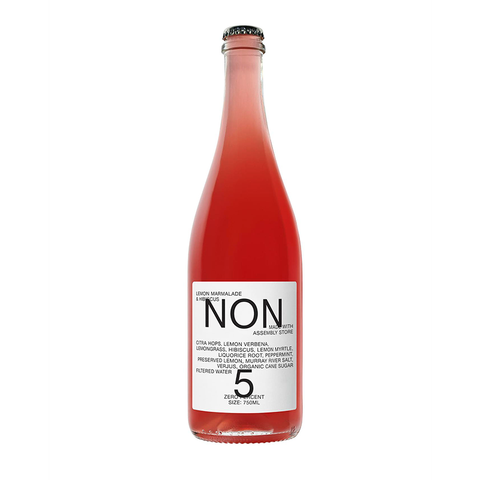 NON 5 Lemon Marmalade and Hibiscus