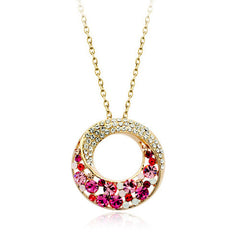 pink andrea necklace