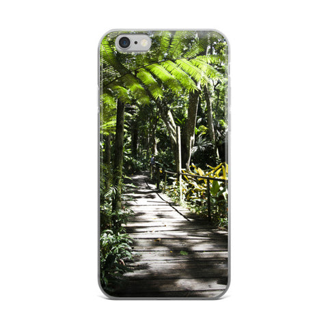 Fijian-Rainforest mobile-phone-cover - Pzella-Accessories - 1