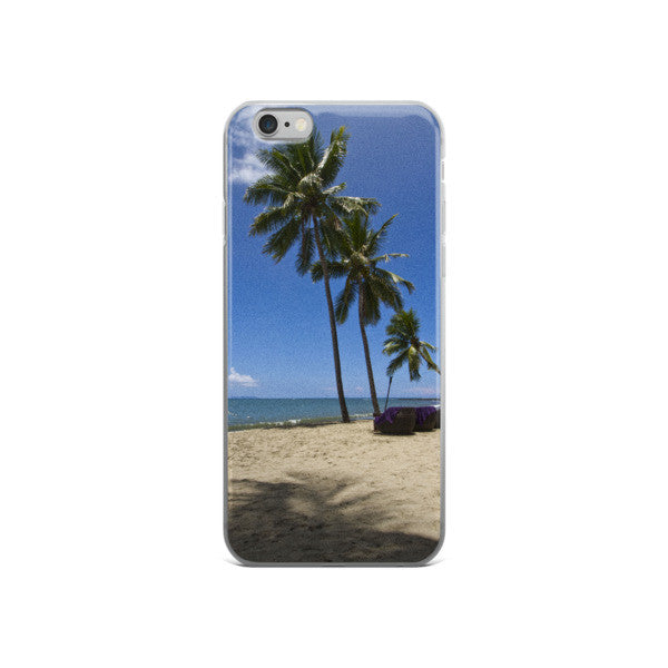 Fijian Beach iPhone case - Pzella Accessories nickel free jewellery